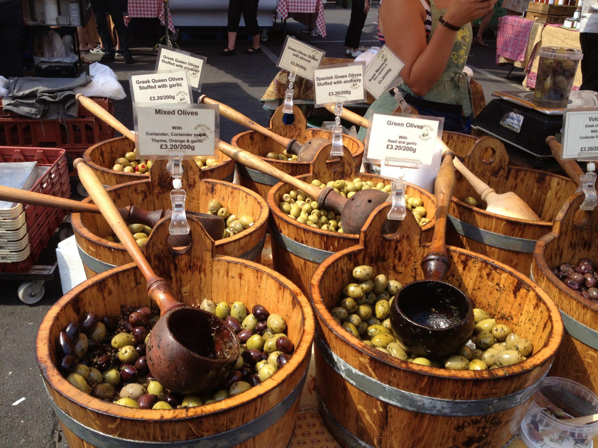 Oakhurst Olives Variation